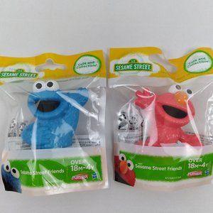 NEW Sesame Street Friends Mini Figures Set of 2